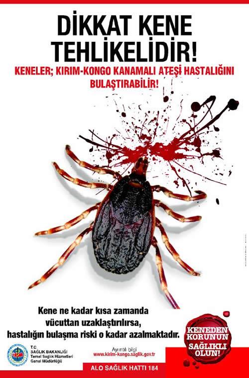 kkka1 Kırım Kongo Kanamalı Ateşi (KKKA) hastalığına karşı dikkatli olun!