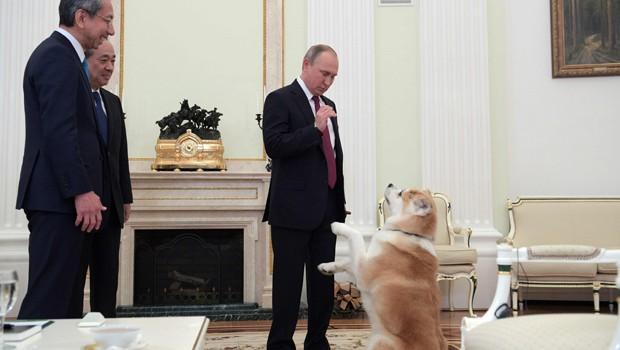 """PUTİN1 Putin, Japonları """"Hayal"""" ile korkuttu!"""