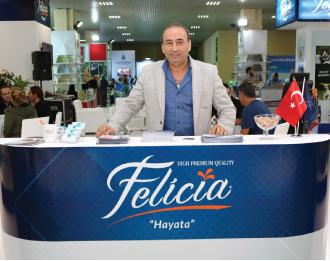 felicia1 ''Felicia'nın ithal markalardan ayrılan en büyük özelliği tazeliği''