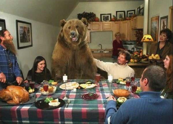 Aile yemeği...